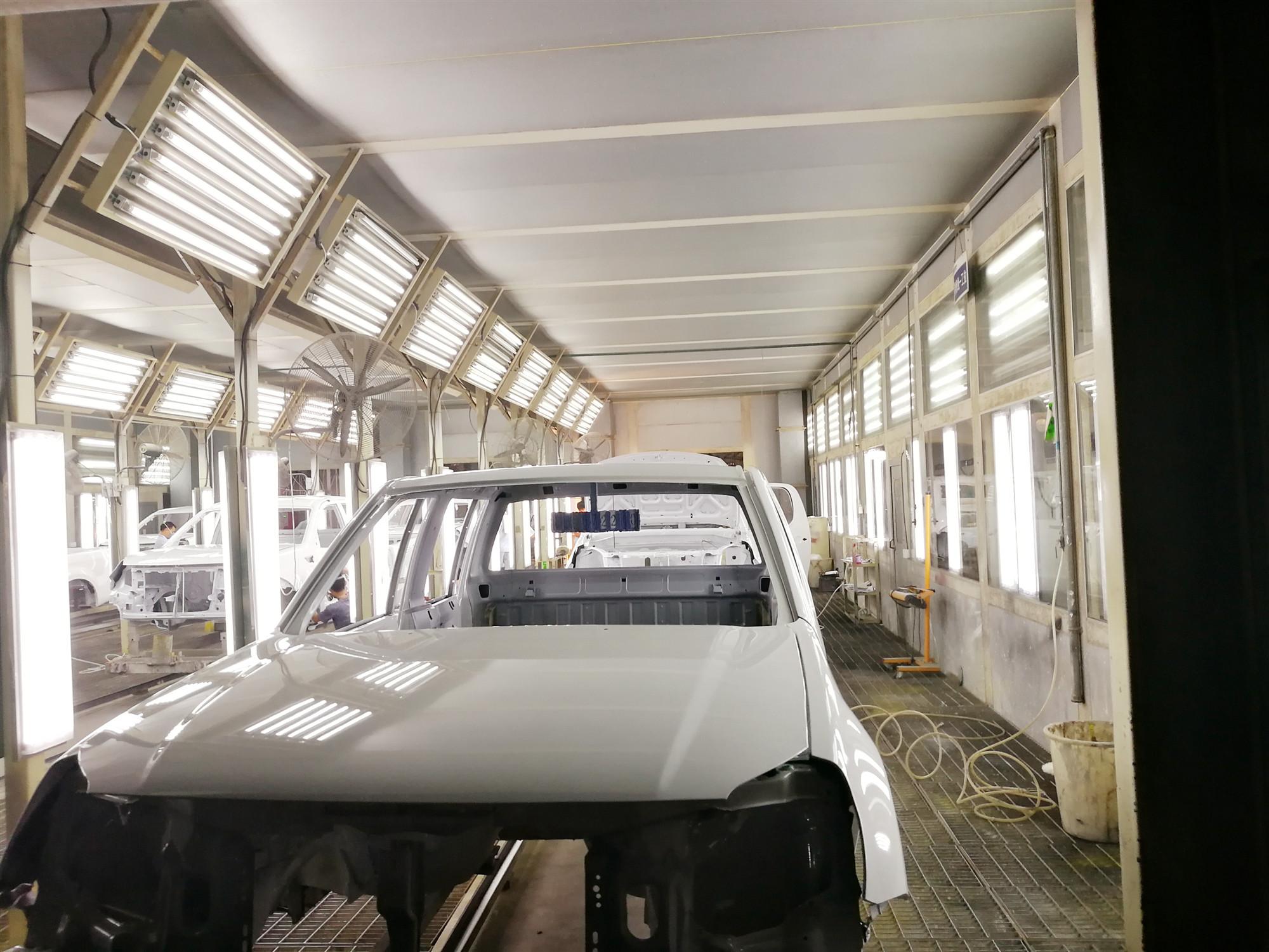 黑龙江汽车涂装生产线