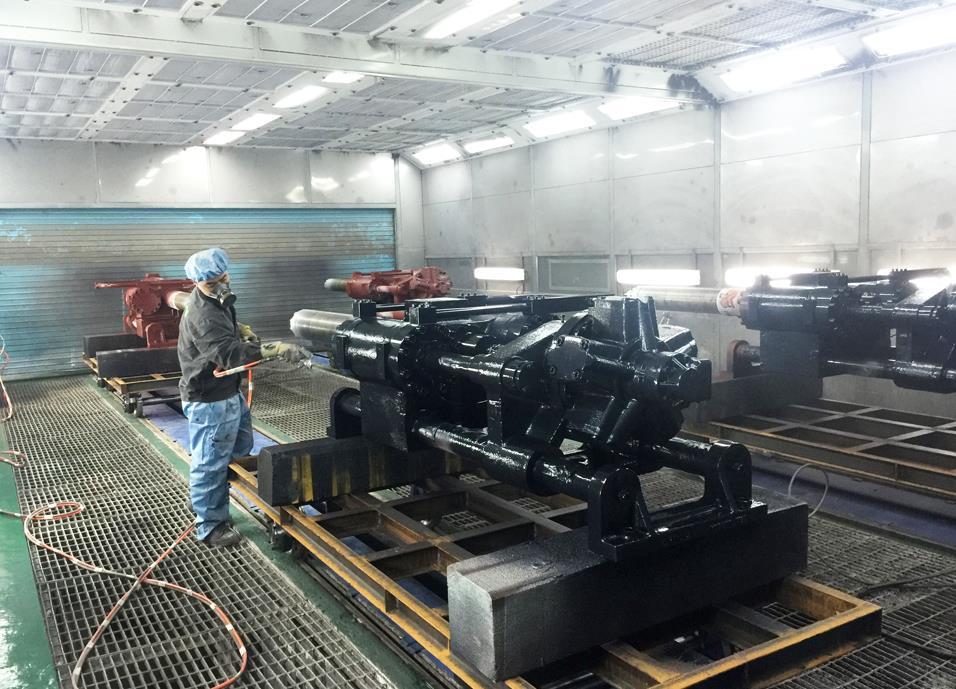 黑龙江机械喷漆设备