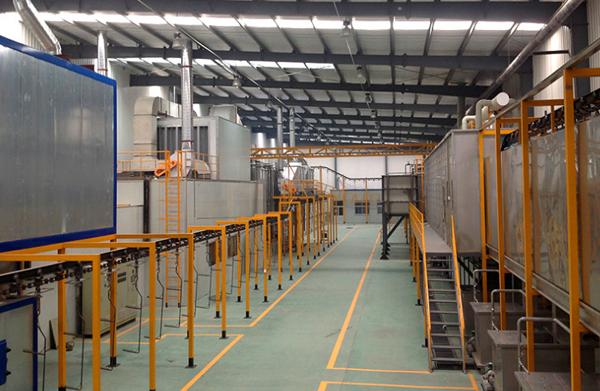 黑龙江塑胶涂装生产线
